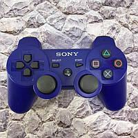 Джойстик Беспроводной  PS3 (синий), фото 1