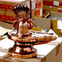 """9070150 Статуя """"Дутая"""" Силуминовая Шива Лингам"""