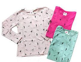 Туніки, реглани, сорочки, пайты, сорочки для дівчаток ОПТ