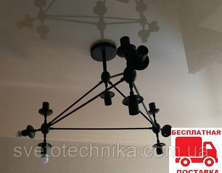 """Светодиодная потолочная LED люстра """"Молекула""""10плафонов """"Орион 2112"""" Е27"""