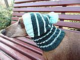 Шапка для собаки,шапка для маленької собачки,шапка для такси,зимова шапка, фото 4