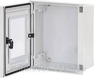 Поліестерові шафи EPC-W 30-25-14 IP66 двері з вікном (1зам., В300хШ200хГ140)