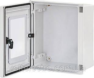 Поліестерові шафи EPC-W 40-40-20 IP66 двері з вікном (2зам., В400хШ400хГ200)