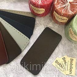 Дно для сумки из эко-кожи *27*12),цвет шоколадный