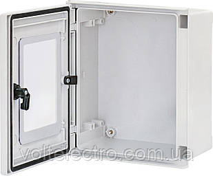 Поліестерові шафи EPC-W 60-40-23 IP66 двері з вікном (2зам., В600хШ400хГ230)