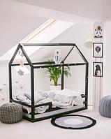 Детская кроватка Домик Напольная Плюс, фото 1