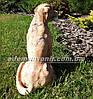 Садовая фигура Лабрадор с костью, фото 3