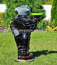 Садовая фигура собака Пес Бармен, фото 3