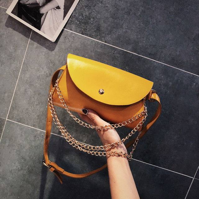 Поясная сумка из кожзама