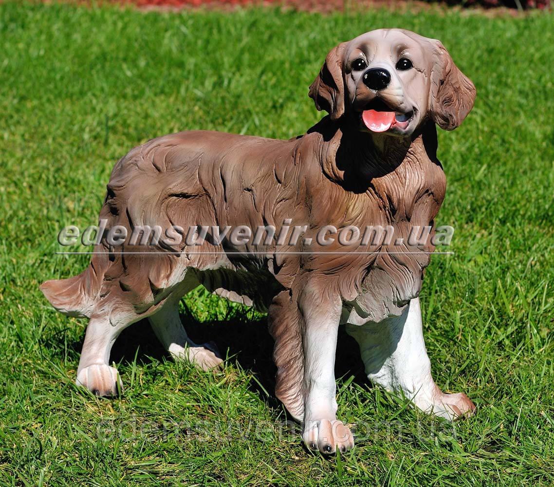 Садовая фигура собака Ретривер