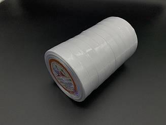 Лента атласная. Цвет №1 Белый. 1,4см 23м/рул.