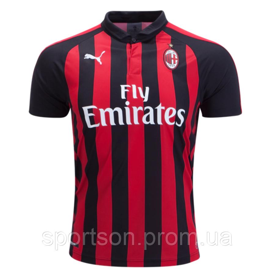 Футбольная форма 2018-2019 Милан (Milan), домашняя