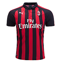 Футбольная форма 2018-2019 Милан (Milan), домашняя, фото 1