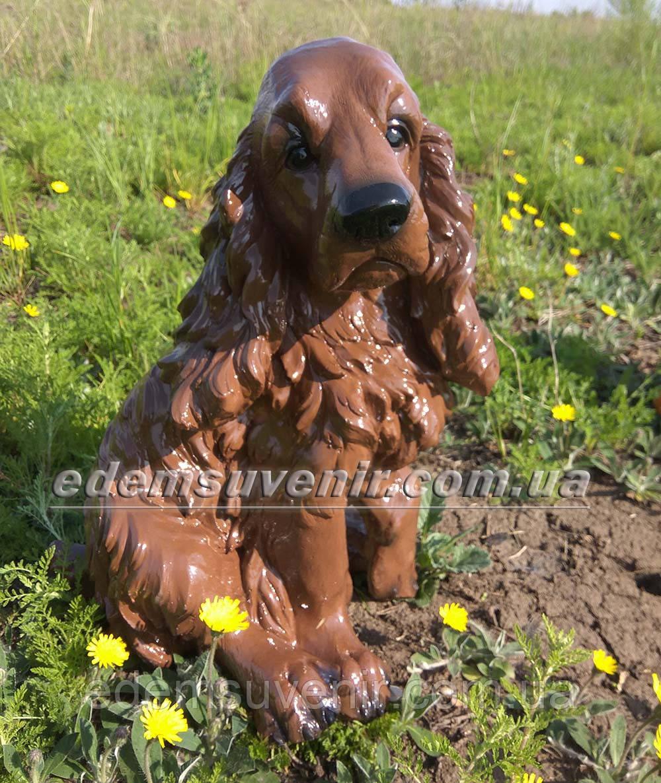 Садовая фигура собака Спаниель