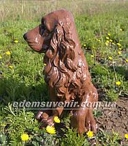 Садовая фигура собака Спаниель, фото 2