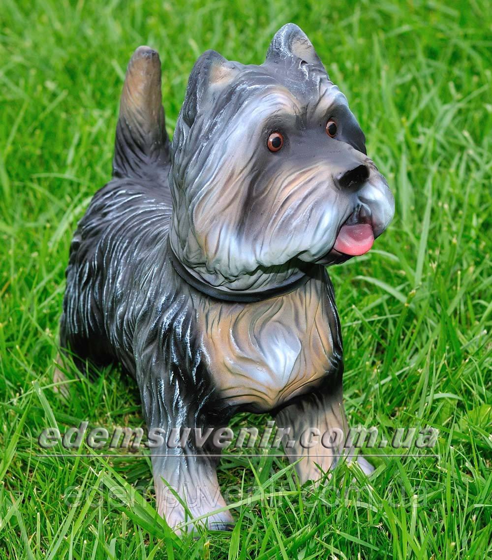Садовая фигура собака Терьер