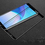 Full Glue защитное стекло для Huawei Y6 2018 - Black, фото 3