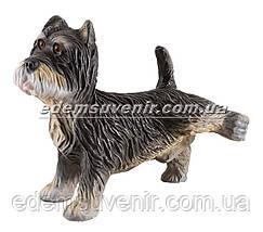 Садовая фигура собака Терьер писающий, фото 2