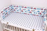 Текстильные панели - эффектная кровать вашего ребенка