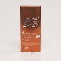 BB-крем с муцином улитки для идеальной кожи Mizon SNAIL REPAIR BLEMISH BALM - 50 мл, фото 2