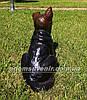 Садовая фигура собака щенок Немецкой овчарки, фото 4