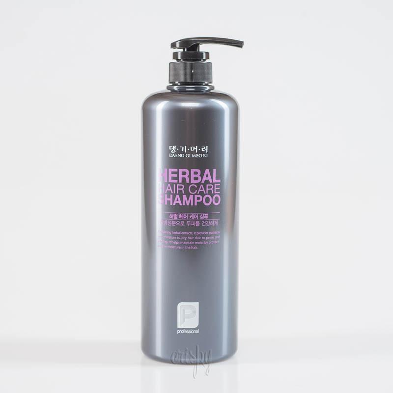 Шампунь для окрашенных волос профессиональный уход DAENG GI MEO RI Professional Herbal Hair Shampoo - 1000 мл