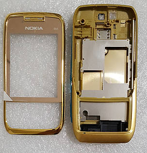 Корпус для Nokia E66 gold  продажа 45be4a20f0664