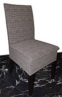 Универсальный чехол на стул Кофейный лен, фото 1