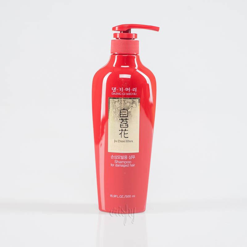 Шампунь для ухода за поврежденными волосами Daeng Gi Meo Ri Ja Dam Hwa Shampoo for Damaged Hair - 500 мл