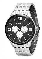 Чоловічі наручні годинники Guardo P11165(m) SB