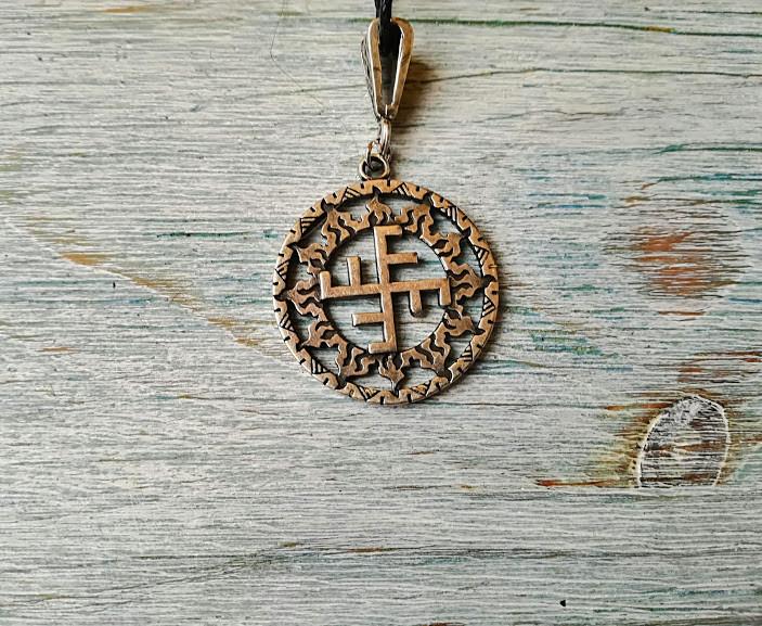 Солнечный Крест в солнечном круге