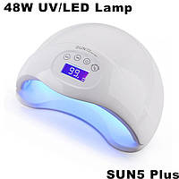 Лед лампа LED+UV Lamp SUN5 Plus 48W
