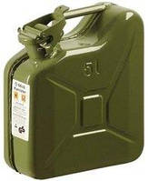 Каністри для бензину металева Gelg 5 л