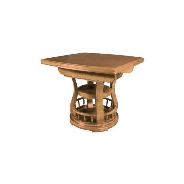 Раздвижной стол ED03, цвет ольха