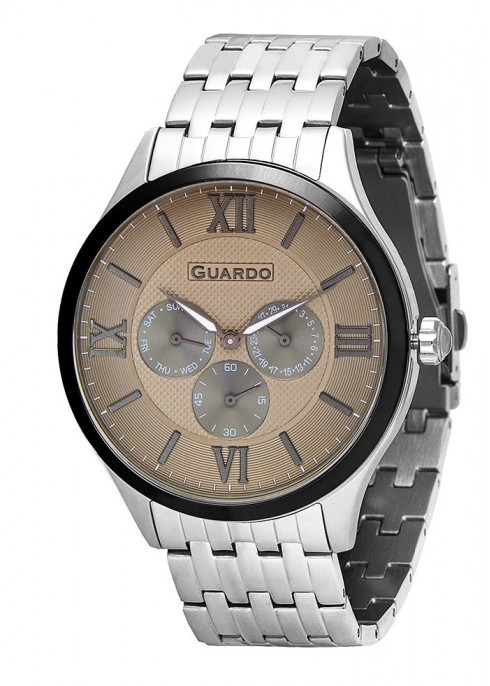 Мужские наручные часы Guardo P11165(m) SGr