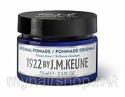 Оригинальная помадка для мужчин KEUNE 1922 Original Pomade 75 мл