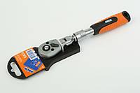 Ключ трещоточный раздвижной 1/4'' MIOL 58-190, фото 1