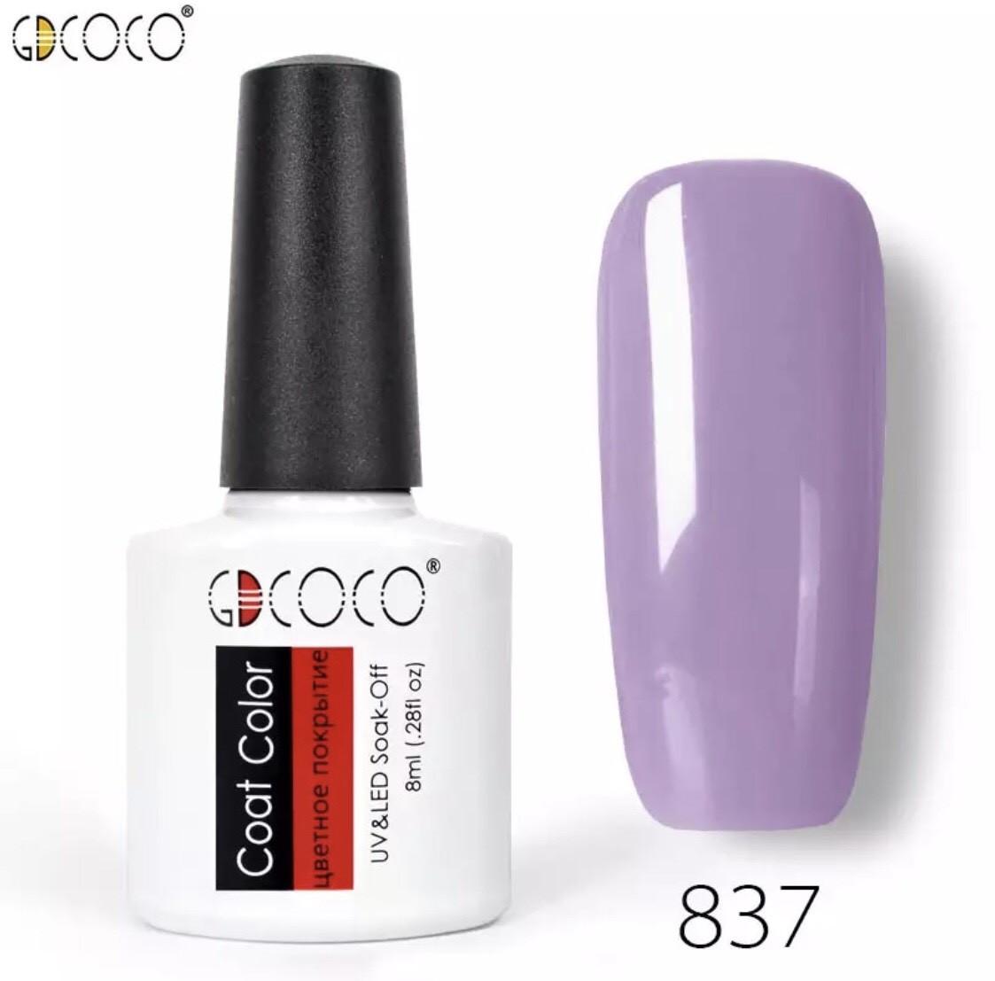 Гель-лак GDCOCO 8 мл, №837 (лиловый)