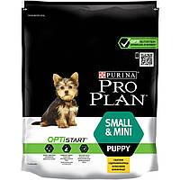 Purina Pro Plan Puppy SMALL&MINI Chicken- корм для щенков малых пород, беременных и лактирующих собак (курица)