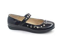 Туфли для девочек р. 30 - Lapsi Лапси 16-1266 черные