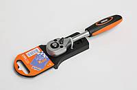 Ключ трещоточный 1/4'' MIOL 58-200, фото 1