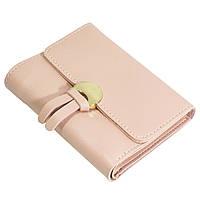 ✦Компактный кошелек Baellerry Bunny mini N1270 Розовый для кредиток визиток карточек денег