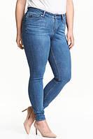 Женские джинсы голубые на 48/50 размер от H&M