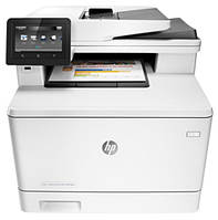 МФУ А4 цветное HP LaserJet Pro M477fnw (CF377A)