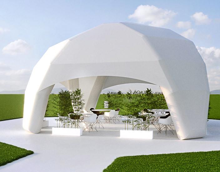Надувной шатер Crystal Inflatable