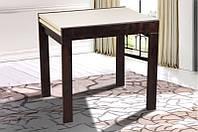 Стол трансформер- ФЛАЙ. Ноги массив дерева, столешница ДСП. (венге)
