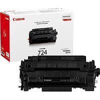Картридж Canon 724 для LBP67хх, MF51х, Black (3481B002)