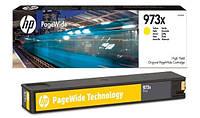 Картридж HP 973X для PW Pro 452/477, Yellow (F6T83AE)