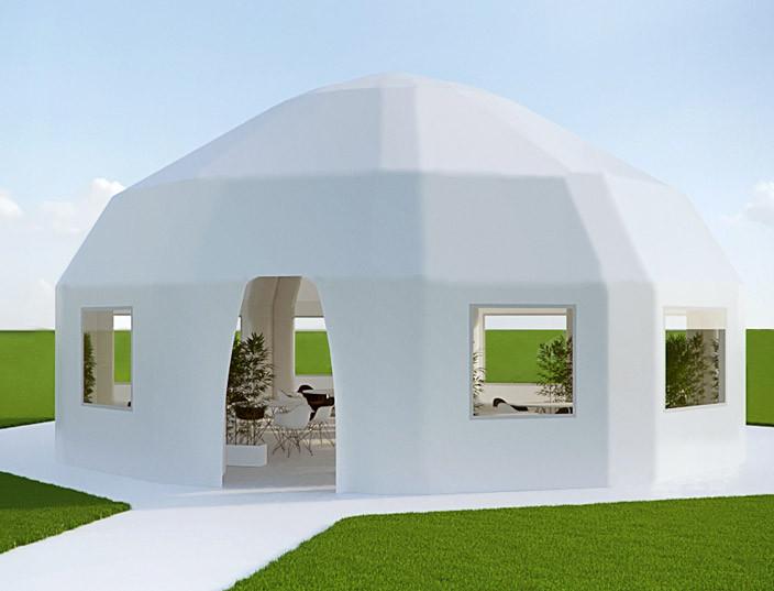 Надувной шатер Юрта