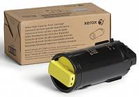 Тонер-картридж Xerox VL C500/C505, Yellow (106R03886)